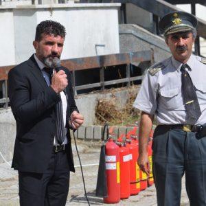 Демонстрационно обучение по пожарна безопасност се проведе във варненска община (СНИМКИ)