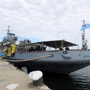 """17 години от вдигането на Военноморския флаг на България на спасителен кораб """"Протео"""" (СНИМКИ)"""