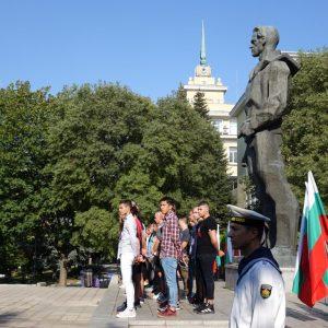 """67 нови курсанти прие ВВМУ """"Н. Й. Вапцаров"""" (СНИМКА)"""