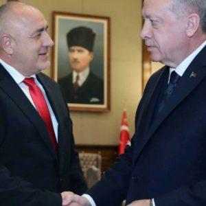 Борисов е говорил с Ердоган по телефона