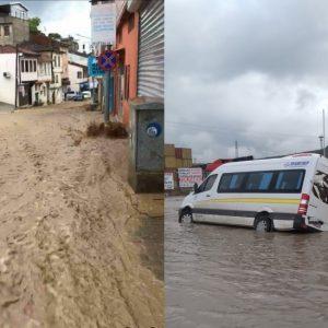 Бурса е под вода: Дъждът потопи офиси, магазини и жилища (СНИМКИ/ВИДЕО)