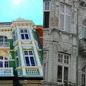 Една от уникалните къщи в центъра на Варна е напълно обновена (СНИМКИ)