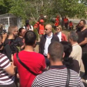 """Напрежение на къмпинг """"Каваците"""" край Созопол"""