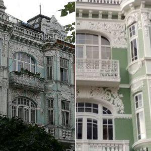 Обновиха фасадата на уникална къща във Варна