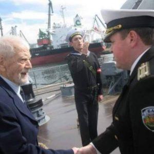 Отиде си един от строителите на Военноморските сили на България. Поклон!