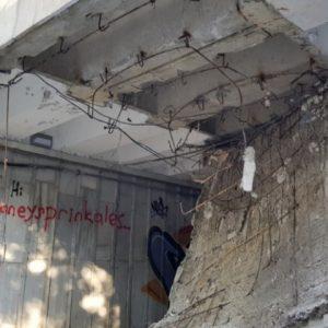 Падна част от тавана на един от най-натоварените подлези във Варна