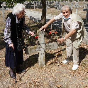 Честваха годишнина от смъртта на герой от Първата световна война